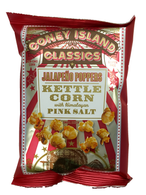 Coney Island Kettle corn with Himalayan pink salt - Jalapeno Poppers 42.5 gr., 36/cs