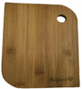 """Bamboo cutting board with """"Antipasto"""" engraved 8"""" ( 6""""x0.4""""x8"""")"""