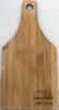 """Bamboo cutting board with """"Seasoned with Love"""" engraved 5.5""""x0.4""""x11"""""""