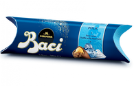 Perugina Baci 3 PC Tube - milk chocolate with hazelnut filling 37.5 gr., 14/cs