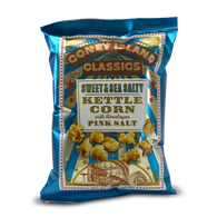 Coney Island Kettle Popcorn with Himalayan pink salt - Sweet & Salty 42.5 gr., 36/cs