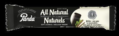 Panda All Natural soft licorice 32 gr., 36/cs