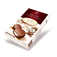 Tago Milk chocolate biscuits with Coconut flavour cream 180 gr., 10/cs