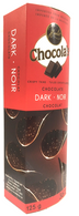 Chocola's crispy Belgian chocolate thins - Dark 125 gr., 12/cs