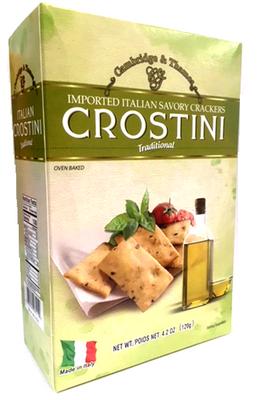 Cambridge & Thames Italian Crostini - Traditional 120 gr., 12/cs