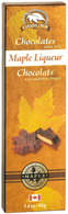 Canada True Maple Liqueur Chocolate 40 gr., 48/cs