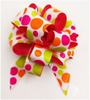 """5"""" Pull Bows - 50 bows/case - Dots"""