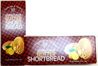 Cambridge & Thames lemon flavor butter shortbread 150 gr., 12/cs