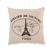 "Paris cushion 18""x18"""