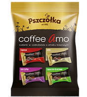 Pszczolka chocolate covered coffee candies (individually wrapped) 100 gr., 20/cs