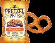 Pretzel Pete Mini Twists - Cheese Pizza 100 gr., 15/cs
