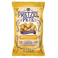 Pretzel Pete Seasoned Nuggets - Honey Mustard & Onion 270 gr., 12/cs