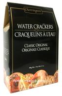 Cherrington Classic Water Crackers - 190 gr., 12/cs