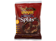 Unique Extra Dark Split-Open Pretzels 60 gr., 24/cs