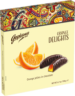 Goplana orange delights 190 gr., 10/cs