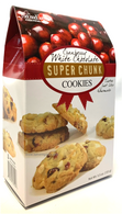 Too Good Gourmet White Chocolate Cranberry Chunk Cookies 170 gr., 12/cs