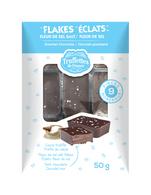 Truffettes de France  Gourmet Chocolate Flakes Fleur de Sel 50 gr., 12/cs
