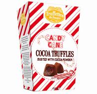Truffettes de France Candy Cane Cocoa truffle 250 gr., 12/cs