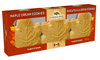 Canada True Maple Cream Cookies 69 gr., 48/cs 3 Individually wrapped cookies in a window box