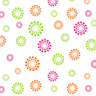 "BLOOMING Printed Cellophane roll Blooming Dots 40""x100'"