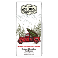 McSteven's Creamy Chocolate Hot Cocoa in a Christmas themed  box 70 gr., 6/cs