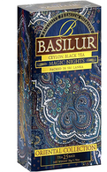 Basilur Oriental Collection Ceylon Black Tea - MAGIC NIGHTS (25 bags/box) - 24/cs)