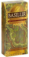 Basilur Oriental Collection Ceylon Black Tea - GOLDEN CRESCENT  (25 bags/box) - 24/cs