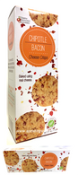 Simply Indulgent Gourmet Chipotle Bacon Cheese Crisps 170 gr., 12/cs