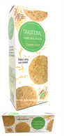 Simply Indulgent Gourmet Traditional Parmesan & Cheddar Cheese Crisps 170 gr., 12/cs