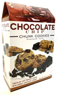 Simply Indulgent Gourmet Chocolate Chip - CHUNK COOKIES  170 gr., 12/cs