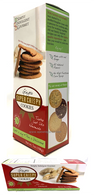 Simply Indulgent Gourmet Ginger super crispy cookies 198 gr., 12/cs
