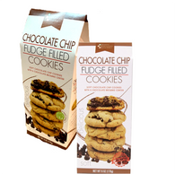 Simply Indulgent Gourmet Chocolate chip fudge filled cookies 170 gr., 12/cs