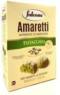 Falcone Amaretti with pistachios 170 gr., 12/cs