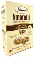 Falcone Soft Amaretti with Chocolate chip 170 gr., 12/cs