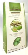 Confetti Maxtris GLUTEN FREE chocolate almond bites with pistachio 150 gr., 12/cs