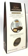 Confetti Maxtris GLUTEN FREE chocolate almond bites with espresso coffee 150 gr., 12/cs