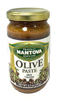 Mantova olive past/tapenade 190 gr., 6/cs