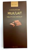 Made chocolate bar - Milk 100 gr., 24/cs