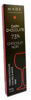 Made Dark Wine Pairing chocolate 73% bar 42.5 gr., 24/cs