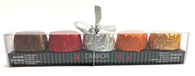 Canada Coast to Coast Chocolate assortment (5 flavours) 62 gr., 12/cs Flavours (1 ea) Double Dark, Milk & Dark Maple, Hazelnut & Sea Salt Caramel