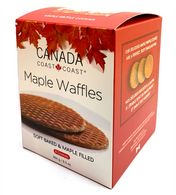 Canada Coast to Coast Maple Waffles (8 waffles) 264 gr., 8/cs
