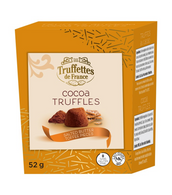 Truffettes de France Cocoa Truffles with Salted butter toffee pieces 52 gr., 21/cs