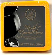 Northwood Cheese shelf-stable Merlot Gourmet Cheese 170 gr., 24/cs