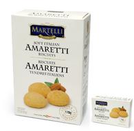 Martelli soft Italian Amaretti 170 gr., 12/cs
