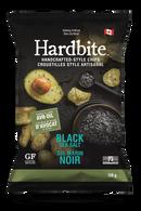 Hardbite Handcrafted Style Chips - Black Sea Salt 128 gr., 15/cs