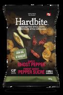 Hardbite Handcrafted Style Chips - Sweet Ghost Pepper 128 gr., 15/cs