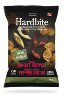 Hardbite Handcrafted Style Chips - Sweet Ghost Pepper 128 gr., 15/cs