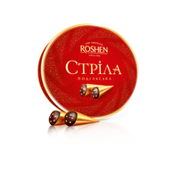 Roshen condensed milk sweets covered with dark chocolate 200 gr., 10/cs