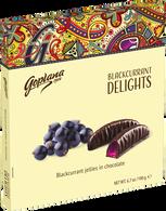 Goplana blackcurrant delights 190 gr., 24/cs