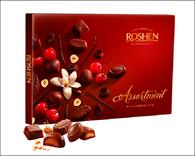 Roshen Assortment - Milk Chocolate 154 gr., 8/cs